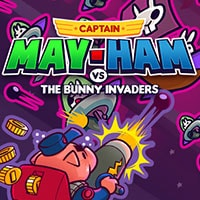 Captain Mayham vs The Bunny Invaders Game