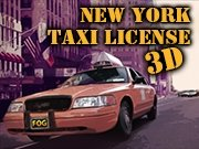New York Taxi License 3D Game - New Games