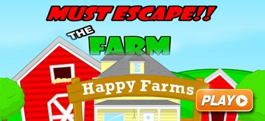 MUST ESCAPE THE FARM Game - Puzzle Games