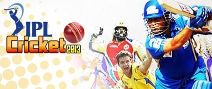 IPL Cricket 2013 Game - Cricket Games