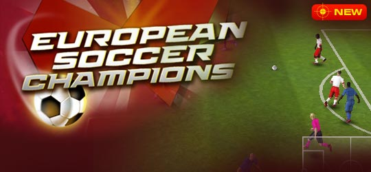 European Soccer Champions Game - New Games