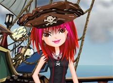 Gothic Pirate Game - Girls Games