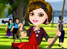 Swing Girl Game - Girls Games