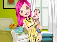 Lovely Baby Sitter Game - Girls Games