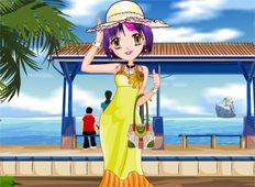 Anime Summer Fashion Game - Girls Games