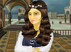 Renaissance Peasant Pants Game - Girls Games