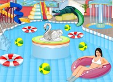 Indoor Water Park Game - Girls Games
