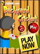 Backyard Cricket Game - Cricket Games