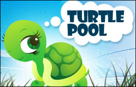 Turtle Pool Game - Pool Games