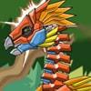 Toy War Robot Therizinosaurus Game - Action Games