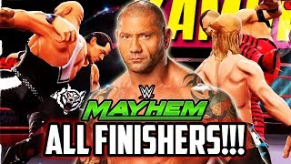 WWE MAYHEM ALL NEW FINISHERS! ROYAL RUMBLE UP Game - Dress-up Games