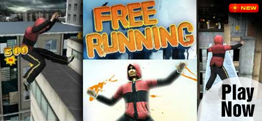 Free Running Game - Racing Games