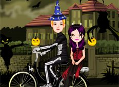 Halloween Ride Game - Girls Games