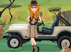 Safari Friend Game - Girls Games